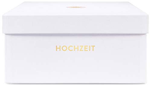 Glück & Segen Aufbewahrungsboxen (Hochzeit», Opalweiß)