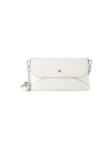 TOM TAILOR Damen Taschen & Geldbörsen Clutch Vittoria White,OneSize