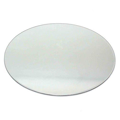 N/A 1 Spiegel 50cm rund Spiegeluntersetzer Spiegelplatte Teller Untersetzer