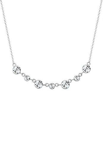 Elli Halskette Damen Elegant mit Swarovski® Kristalle in 925 Sterling Silber