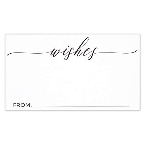 Glückwunschkarten für Hochzeiten, kleine Grußkarten, 8,9 x 5 cm, 50 Stück