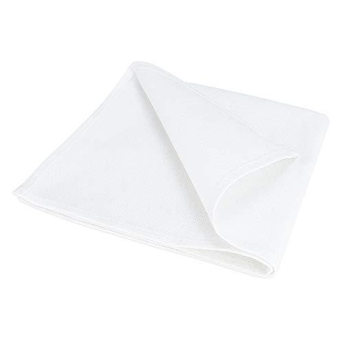 Treb BA Stoffservietten, 12 Stück, weiße, 50x50cm