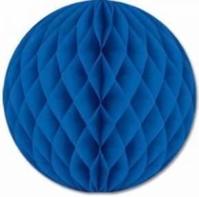 Sky 9 x Blau Wabenbälle Papier Waben Honeycomb Balls Dekoration - 20cm