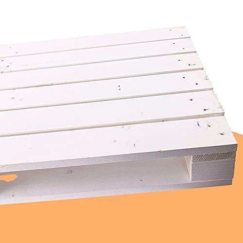 Palette Weiß 120 x 60 x 13cm (LxBxH) Shabby Vintage Möbelbau