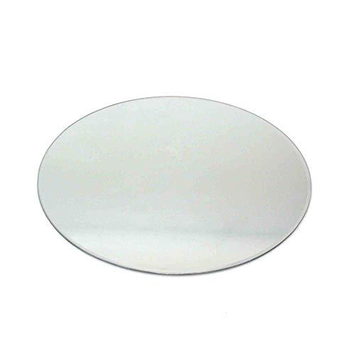 N/A 1 Spiegeluntersetzer Spiegelplatte Spiegel Teller Spiegelteller Untersetzer 30cm rund