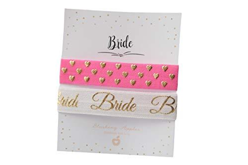 Armband Set - Bride/Hochzeit, JGA, Braut, Junggesellinnenabschied
