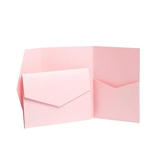 Rose Pink jeweils mit Perlglanz, 130 mm x 185 mm rose