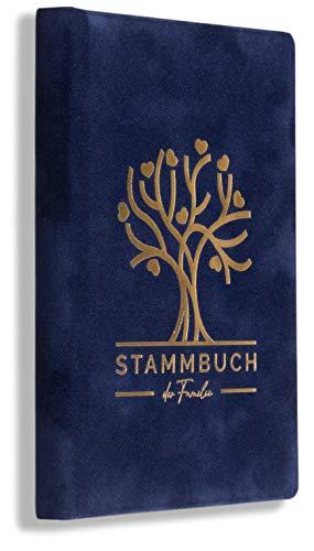 Stammbuch Blau Stammbuch der Familie Bero Standesamt Hochzeit