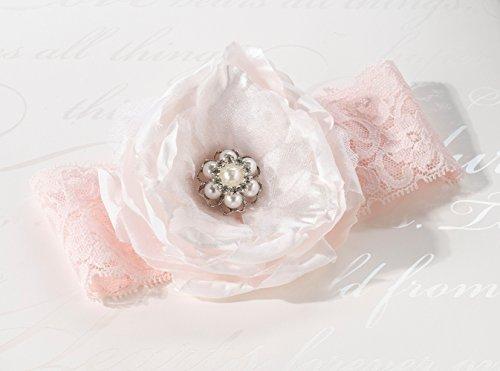 Blush Pink Strumpfband