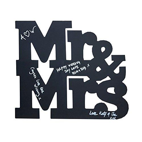 Chalkboard Mr & Mrs Schild