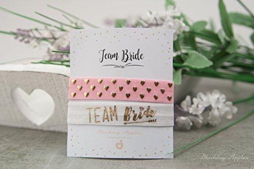 Armband Set - Team Bride/Hochzeit, JGA, Junggesellinnenabschied