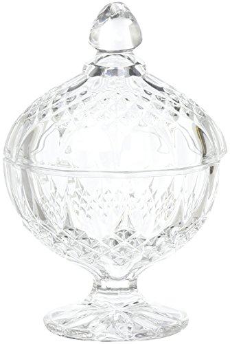 Cristal D'arques Diamax Bonbonniere Longchamp mit Fuß 12cm