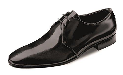 Wilvorst Lederschuhe der Marke Farbe Schwarz in Hochglanzoptik