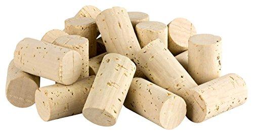 50 Neue Weinkorken (Wein Korken Flaschenkorken) - Naturkorken Kork, ideal zum Basteln und Dekorieren