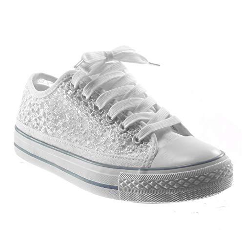 Angkorly - Damen Schuhe Sneaker