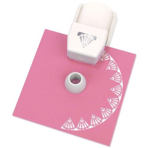 Martha Stewart Kreis- und Randlocher für Papier zum Basteln Deko-Schale weiß
