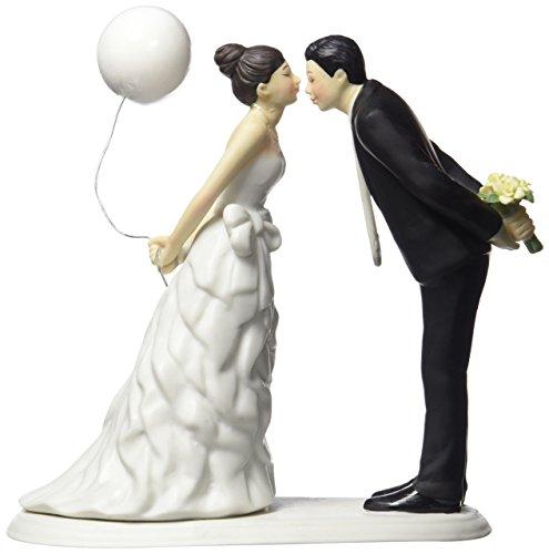 Unbekannt Weddingstar Schiefen in für A Kiss Paar Figur
