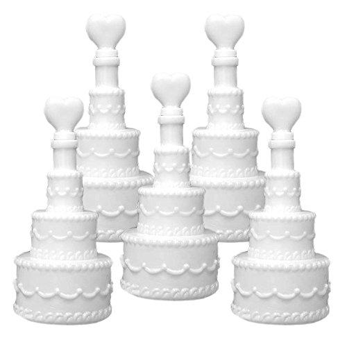 Partydeco 24 Seifenblasen Hochzeit Geschenk Torte