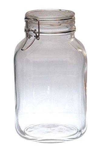 Bormioli Fido Einmachglas mit Bügelverschluss, Größe:3.0 Liter