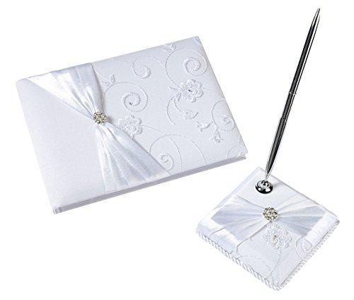 Lillian Rose Jeweled Strumpfband, schwarz, Textil, elfenbeinfarben, Einzelbett