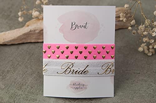 Armband Set - Braut, kleine Aufmerksamkeit zum Junggesellinnenabschied