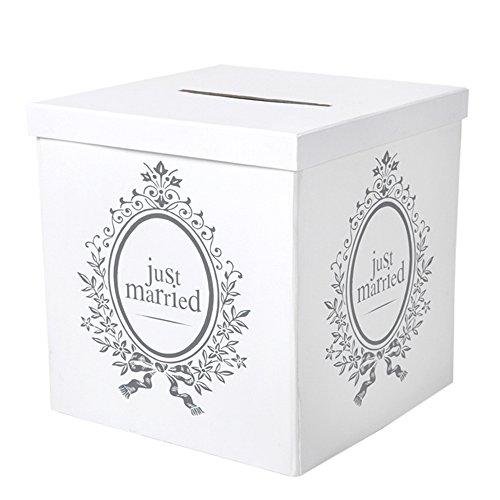 Santex Geldbox/Geschenkbox Just Married für Ihre Hochzeitsfeier
