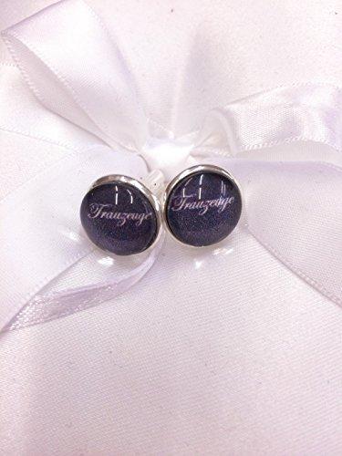 Personalisierte Manschettenknöpfe mit Name, Text, Bild, Foto, zur Hochzeit oder als Geschenk