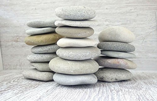 10 Zen-Setine/ 1kg Flachsteine / Meeressteine / Dekosteine / Kieselsteine / Mandala / Muschelsteine / Strandsteine / Kunststeine / Stranddekor / Strandkunst