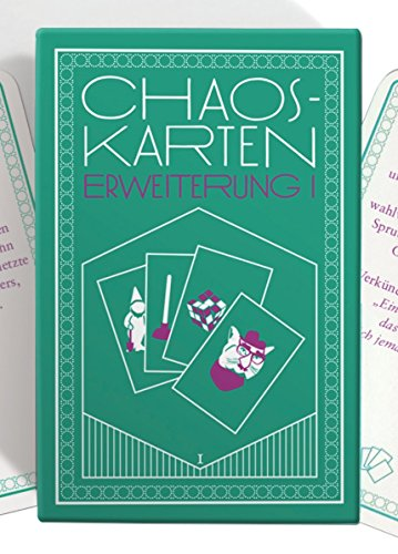 Chaoskarten Partyspiel Erweiterung (Nicht für Hochzeit!)