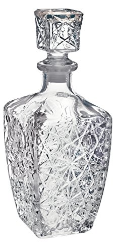 Bormioli Rocco Weindekanter aus Glas für Spirituosen, Dedalo–800ml (28oz).