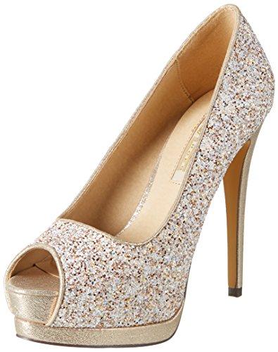 Buffalo Shoes Damen JH-A4070-B Glitter Pumps