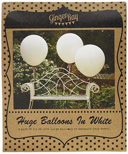 Ginger Ray Vintage Affair Party Hochzeit Luftballons weiß