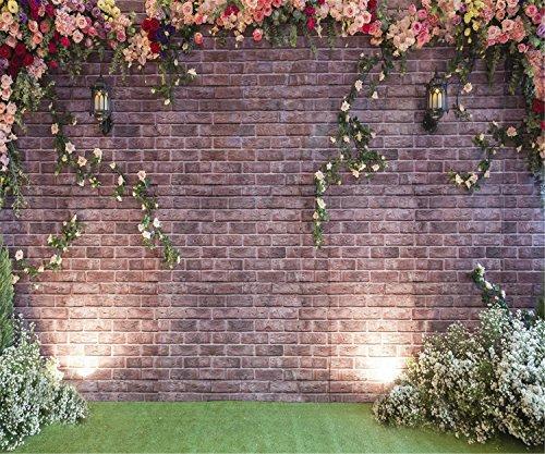 Kate Blumen Wand Photography Brick Hintergrund Hochzeit stuido Hintergrund