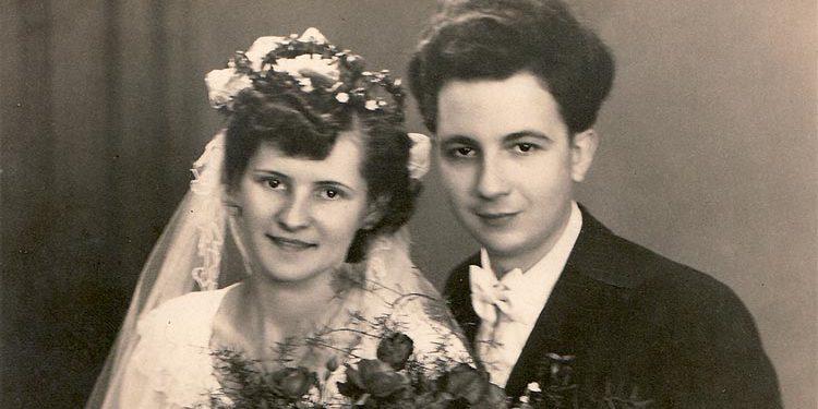 Die Hochzeit von Oma und Opa