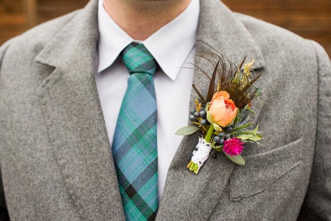 Boutonniere Die Ansteckblume Fur Den Brautigam