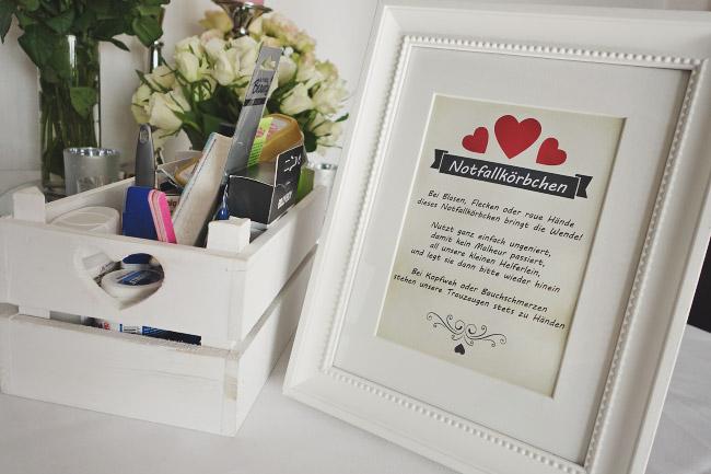 Superior Das Notfallkörbchen Für Die Hochzeitsgäste Bild 1