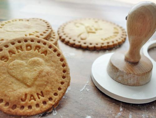 Personalisierte Kekse als Gastgeschenk für die Hochzeit