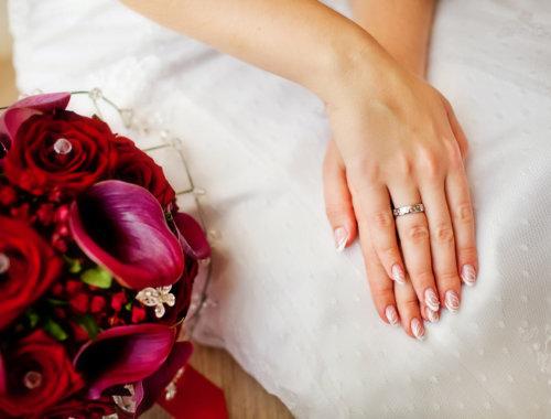 50 Beispiele für die Hochzeitsnägel
