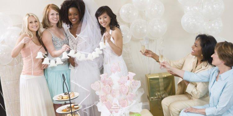Bridal Shower, Bachelorette Party oder Braut-Party