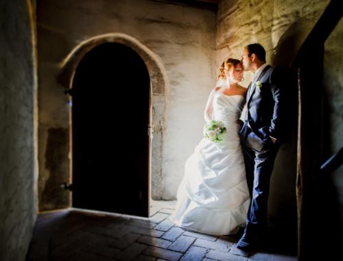 Eine wunderschöne Hochzeit mit freier Trauung im Rittergut