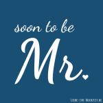 Profilbilder zum Thema Hochzeit für Facebook, Instagram und Co - soon to be Mr Bild 2