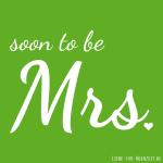 Profilbilder zum Thema Hochzeit für Facebook, Instagram und Co - soon to be Mrs. Bild 6
