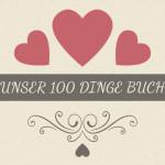 """Das """"100 Dinge Buch"""" als Geschenk zur Hochzeit"""