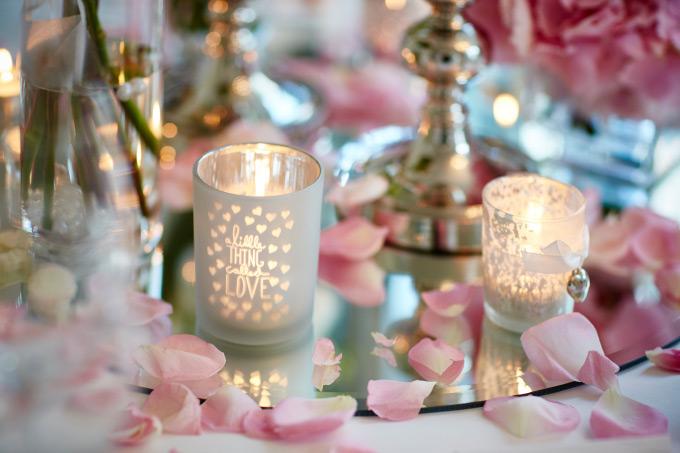 Das Parkrestaurant Herne - Unsere Location für die Hochzeitsfeier - Tischdekoration Hochzeit Bild 2