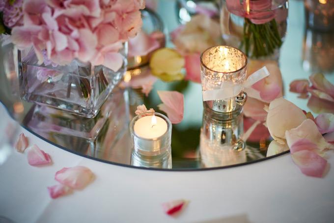 Das Parkrestaurant Herne - Unsere Location für die Hochzeitsfeier - Tischdekoration Hochzeit Bild 3