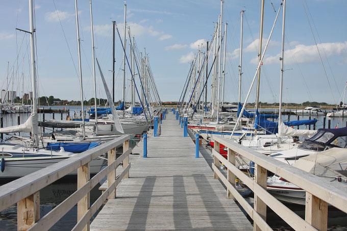 Der Yachthafen auf Fehmarn Bild 3