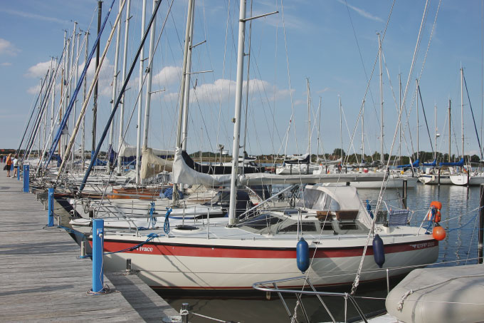 Der Yachthafen auf Fehmarn Bild 2