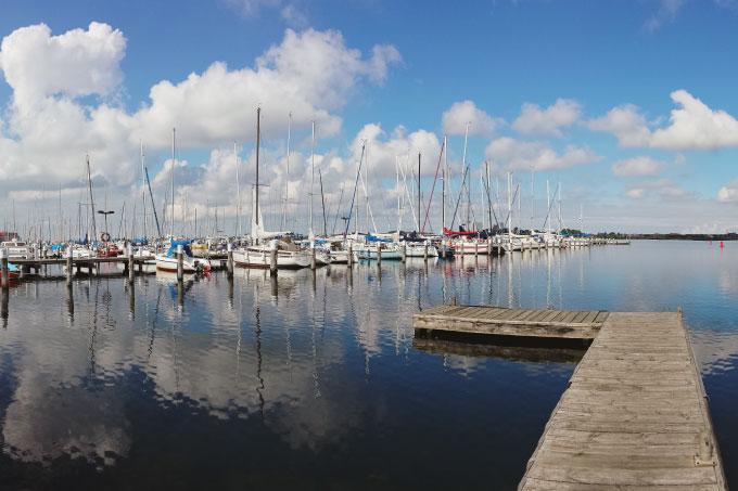 Der Yachthafen auf Fehmarn Bild 1