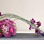 Ein Tischgesteck mit echten Blumen selber machen