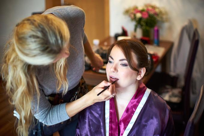 Getting Ready der Braut bei unserer eigenen Hochzeit Bild 10